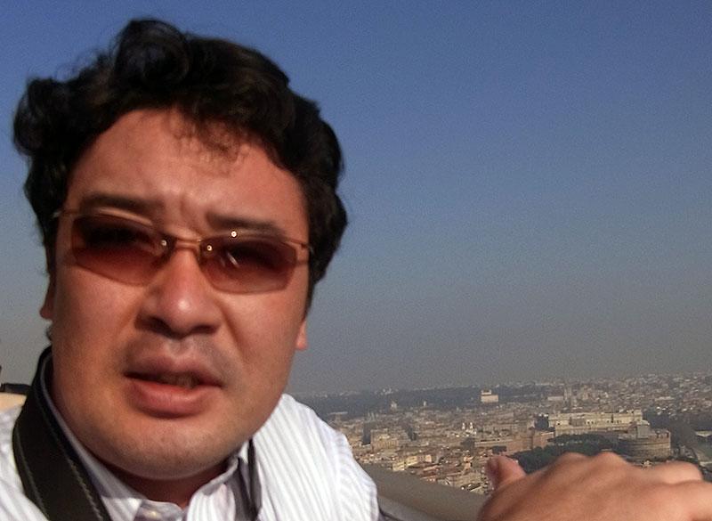 2011年 ローマ:バチカン市国にて