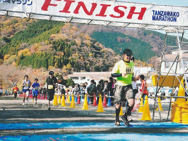 丹沢湖ハーフマラソン