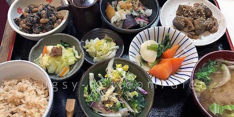ミルクランドの自給野菜定食