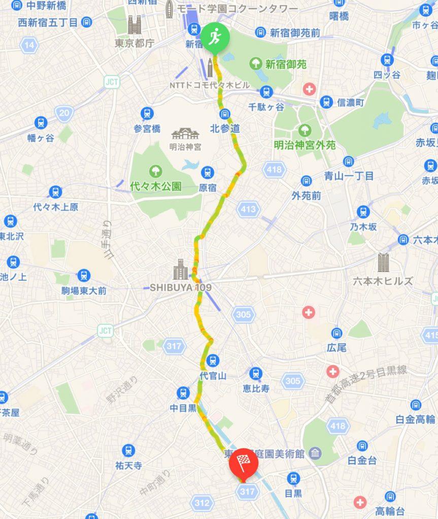 ウォーキングマップ